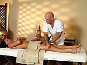 Secret voyeur movie of nasty masseur penetrate customers