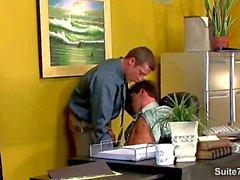 Geil Homosexuell die Sex im Büro am Arbeitsplatz