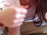 De Suraya actores hace una mamada mañana y la recibiendo un facial