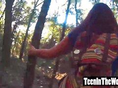 Michelle Martinez recebendo seu pequeno bichano apertado cheio disco