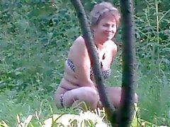 Kvinnan på naturen