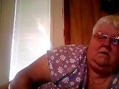 Webcam show from BBW Granny