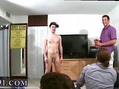 Homens gay pornô de playboy todos na festa parecia amar th