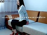 Çin kız kölesi bağladı ve çoraplarla bağırdı 2