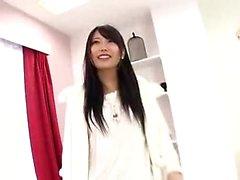 Asian japanische Teen Strümpfe Blowjob