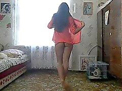 di due russo ragazze da ballo sexy di