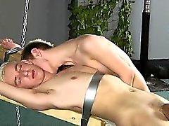 Blonden 6 Stück Kerle Homosexuell Porno Dekan Ruft kitzelte , super Heißwachs