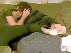 Homosexuell Liebe zu küssen und kuscheln