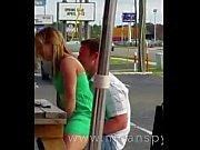 Par har sex i en Restaurangen