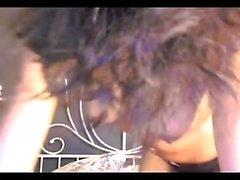 Ebony Teen Webcam Dildo ride