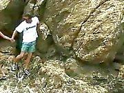 Нудистский пляж для подростков DP трахать Андреа в kinkyandlonelycom
