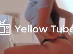 Giapponese Brasiliana fitness babe Mostra Fuori Il bolle Butt & Puss stretto
