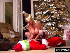 KELLY MADISON El gallo que robó Clitmas