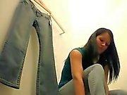 Hidden cam in dressing room 2