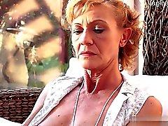 Natürliche Brust country girl Mundsperrer