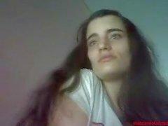 # 0399 - ragazza Skype divertirsi
