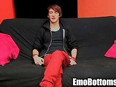 Emo Twink von Andy Kai zog an seinem harte Schwänze