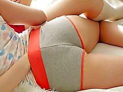 Ideal Mädchen zusammen zu spielen