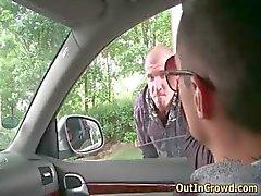 Возбужденные Homo ханк сосание жесткого геев трубку