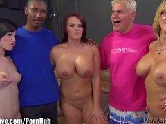 MEGA TRIO! Nikki Sexx, Jennifer White and Mackenzie Pierce!