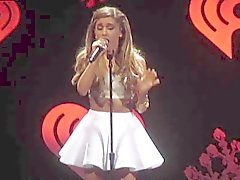 Ariana Grande - kurzer Rock Concert Video