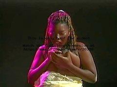 dicken Stillzeit schwarze Mädchen fickt und bläst