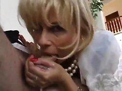 Blonde Charlyse B Modelle Strümpfe und Dessous