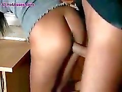 Hot Ass Italian Teacher Elena Grimaldi fucked in the classroom