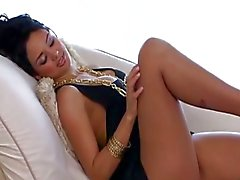 Superhot Latin glamour hussy humped