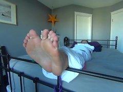 Barefoot Mummification Tickling