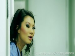 Asa Akira is a naughty nurse