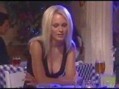 Hete sex in het restaurant