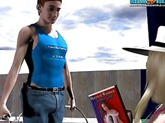 3D Комический MrsRichards приключений