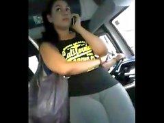 Novinha delicia flagrada no busão