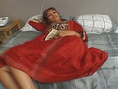 Sexy Inder Warm Schätzchen Flotter Dreier Flotter