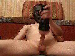 Черная маска порно Fleshlight Pussy , Домашнее соло