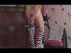hetero anaali Nyrkkinainti ammottava kypsä alusvaatteita sukkahousut 75