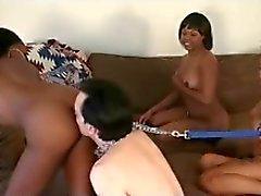 Девушка черный Мастера и белый мальчик Slaves 2
