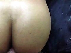 Schwarz Mann im anales Geschlecht eingreift