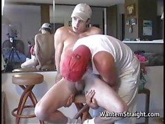 Hot Heterosexuelle in Homosexuell Pornos Maßnahmen part4