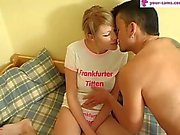 German First Double Creampie - your-cams