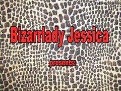 Bizarrlady Jessica domina a los esclavos