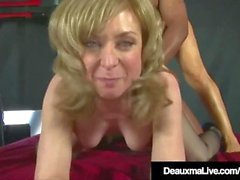 Kåta Cougars Deauxma & Nina Hartley Fuck & Suck Black Cock!