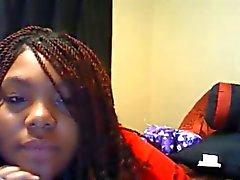 amerikan zenci kız
