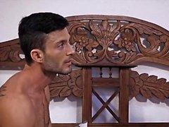 Big Dick Homosexuell bareback mit Gesicht