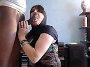 Arabian flicka som strök en BBC
