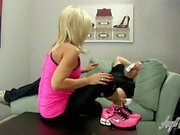 Angel Kissed Feet - Nikki Ashton Gets Her Feet Worshiped After Workout