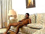 Muskulös Homosexuell hunk begrüßt jeden Zentimeter harte Fleisch seinen hungrigen Arsch