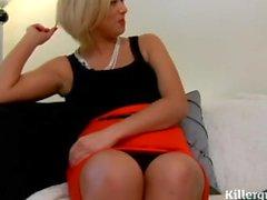 Blonde Hausfrau Anal Große Titten