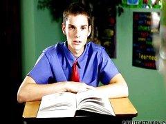 Naughty student wordt gestraft voor plagiaat